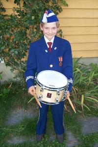 My little drummer boy!!