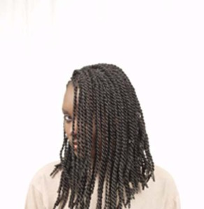 Sengalese twist braid on extentions