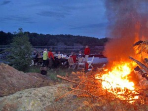 St. Hans bonfire