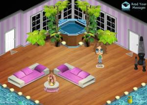 Example of a YoVille home