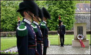Royal Guard at Memorial Site